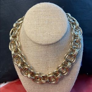 Banana republic chunky statement heavy necklace